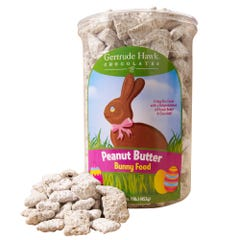 Peanut Butter Bunny Food