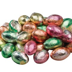Milk Chocolate Spring Foiled Eggs