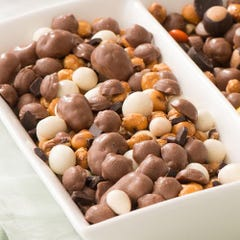 Caramel Turtle Snack Mix