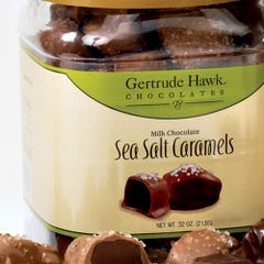 Milk Chocolate Sea Salt Caramel Tub